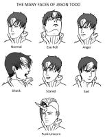 The Many Faces of Jason Todd by Cera-Tay