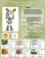 OCPL Form- Hachi UPDATE by Sonic-chaos
