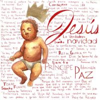 Jesus CD cover by DHTenshi