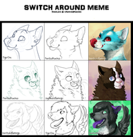 Switch Around Meme by painted-flamingo