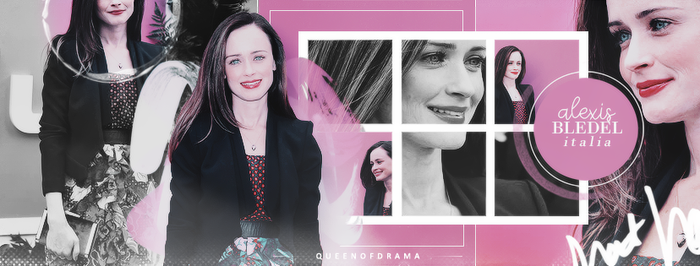 Alexis Bledel Italia [Timeline] by thequeen-ofdrama