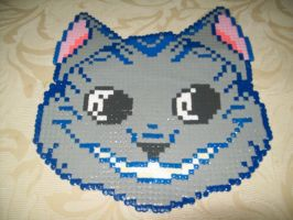 Cheshire Cat Bead Sprite by elphieofkiamoko