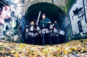Battle Ready - Shingeki No Kyojin by denni-cosplay
