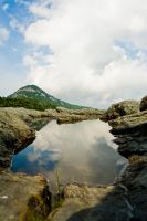 Grandfather Mountain Reflected by rdswords