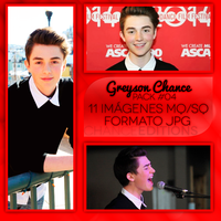 Greyson Chance Photopack #OO4 by ChanceEditions