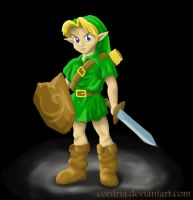 Link .:OoT:. by cordria