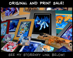 Print and Originals Sale! by sophiecabra