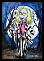 Beetlejuice by Le-ARi