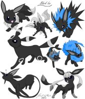 BlackIce the Eevee by Tsuki-93