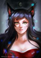 ..:: Ahri - League of Legends ::.. by TitPrince