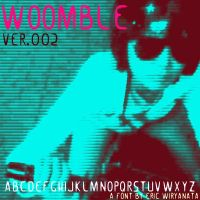 Woomble ver002 - font by sampratot