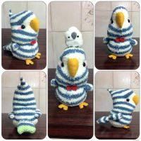 Parrot Sock Plushie by hope-dot