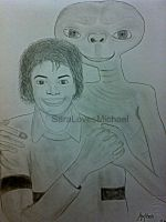 Michael with ET by SaralovesMichael