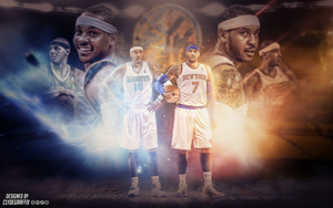 Carmelo Anthony | Wallpaper by ClydeGraffix