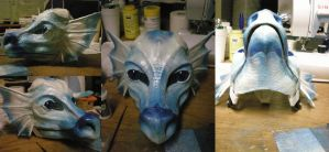 WIP pre-made dragon by xiamara13