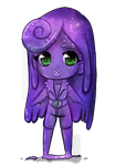 Galaxy slime girl - SOLD by Queen-Soulia