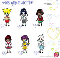 Chibi Girlie Adopts 2- CLOSED by RunaDaiaru
