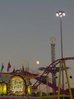 Moonrise at the Fair by Geak-of-Nature