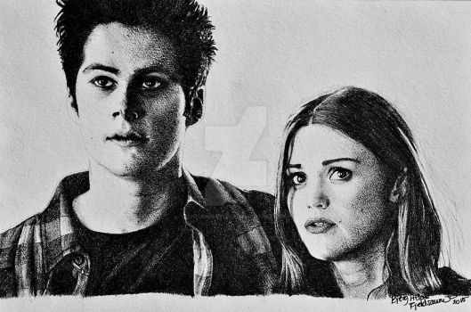 Stydia - Teen Wolf by HeleneSaether