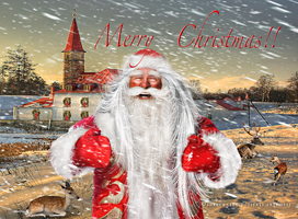Merry Christmas  2013 by SharonLeggDigitalArt
