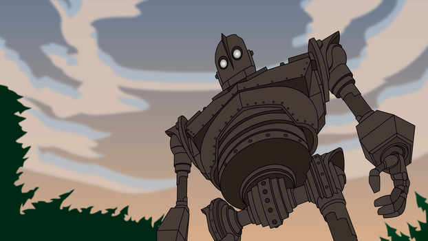 The Iron Giant by Mr-Frisky