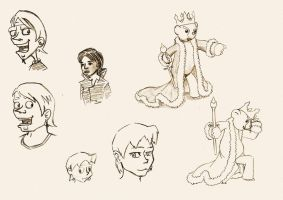sketches 14 by vuurvlam