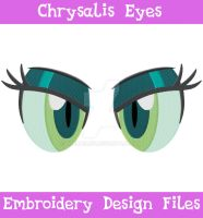Chrysalis Eyes [EMBROIDERY FILES] by TheHarley