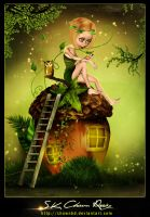 Little Forest Princess by SK-DIGIART