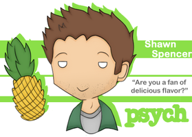 Psych - Shawn by Reaii
