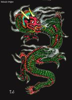 Kaihoshi- Chinese Earth Dragon by Silgan