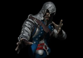 Connor Kenway WIP 4!! by ebelesaurus