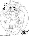 A Dragon Girls Christmas by Sayda