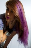Violet Vamp (for Short Cuts hairdressing) by Make-upArtist