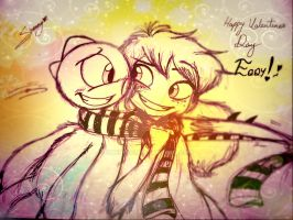 Happy Valentines day Eddy! by Shenny-Shendelier