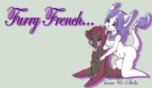 Furry French banner by lfraysse