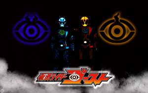 Kamen Rider Ghost and Spectre ( Specter) Wallpaper by malecoc