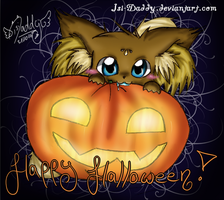 Malakay wishes Happy Halloween by Isi-Daddy