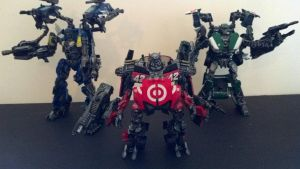 Custom Transformers DOTM Wreckers by i---D---i
