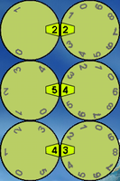 Wheels Clock 1.0 by JorgeLuis-JorgeLuis