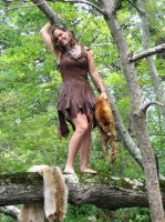 SavagePunk Deerhide Dress 4 by SavagePunkStudio
