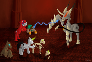 Diablo 2 Ponies - Commission by Rekkin-Ponymode