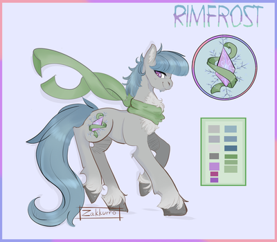 Rimfrost- Simple Reference Sheet by Zakkurro