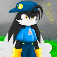 Klonoa - Lineless test by KthTheArtist