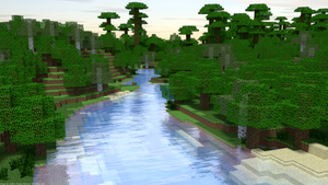 Minecraft Water Test by PerpetualStudios