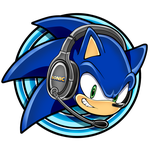 Gift/Request: Sonic with Headsets avatar by Kyuubi83256