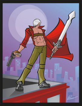 Devil May Cry 3 by Jay-Michael-Lee