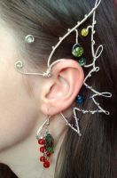 Butterfly ear cuff by ShirNek0