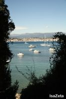 Cannes from Sainte Marguerite by IsaZeta