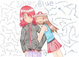 Silver and Blue by Meika02