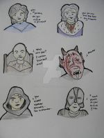 Oblivion Characters by darklylightkayleigh
